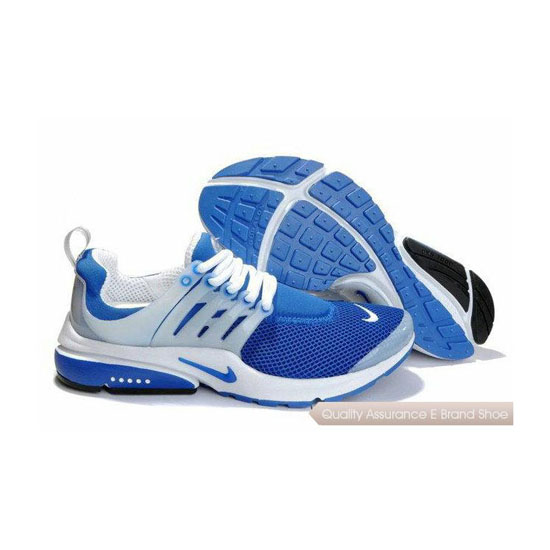 Nike Air Presto Mesh Womens Sneakers Royal Blue White