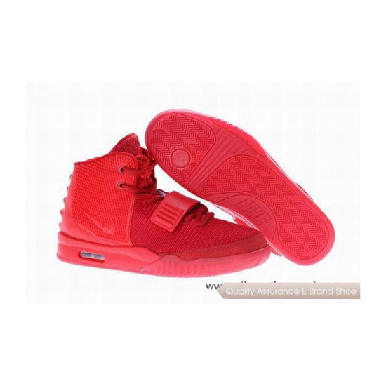 Nike Air Yeezy 2 Kanye West Red October Basketball Shoes