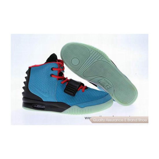 Nike Air Yeezy 2 Luminous South Beach Basketball Shoes
