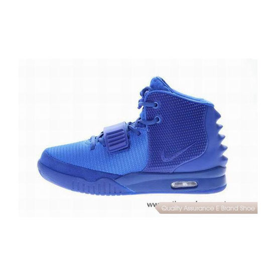 Nike Air Yeezy 2 Royal Blue Basketball Shoes