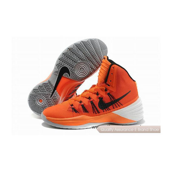 Nike Hyperdunk 2013 XDR Orange-Black-White Basketball Shoes