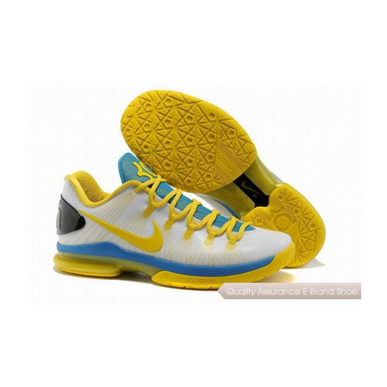 Nike KD V Playoffs Home Basketball Shoes