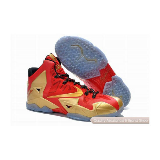 Nike LeBron 11 Two Time World Champion Basketball Shoes