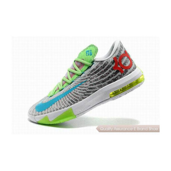 Nike Zoom KD VI Multicolor Basketball Shoes