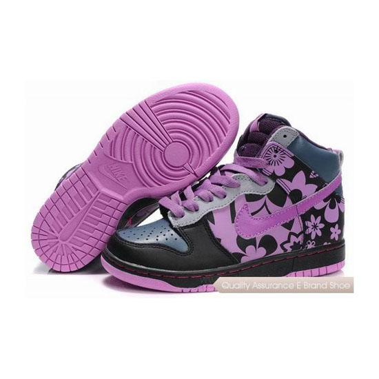 Nike Dunk SB Cut 2 By Ceykey black orchid Womens Sneakers