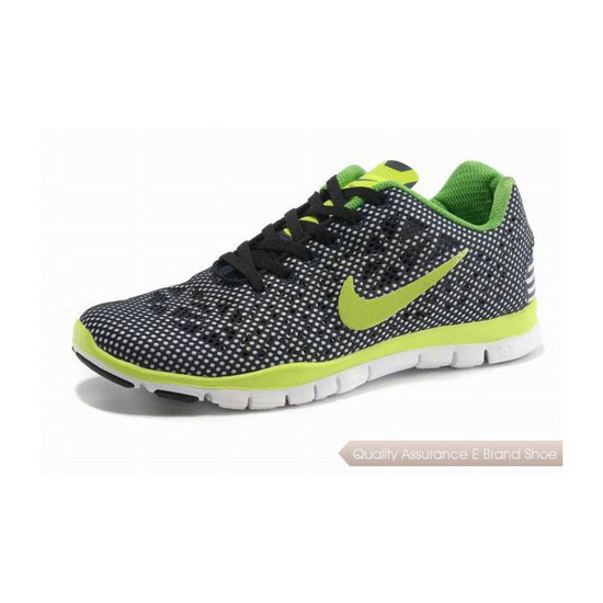 Nike Free TR Fit 3 Mens Running Shoe Black Yellow Green