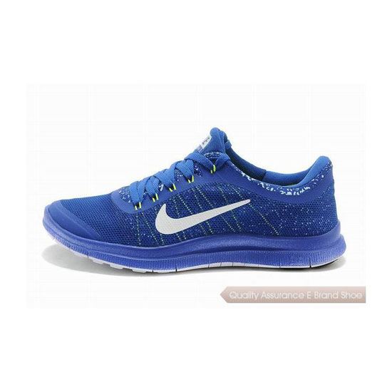 Nike Free 3.0 V6 Mens Running Shoe Blue White