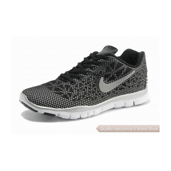 Nike Free TR Fit 3 Mens Running Shoe Black Silver