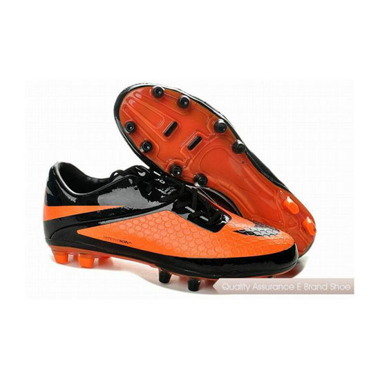 Nike Hypervenom 2014 Phatal FG Cleats Black Citrus