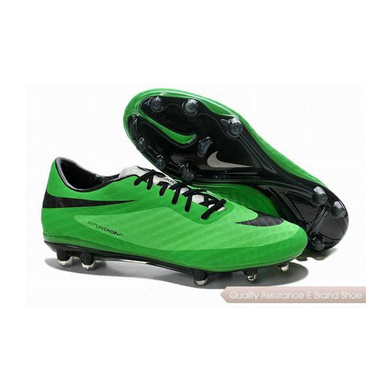 Nike HyperVenom Phantom FG Cleats 2014 World Cup Green Black
