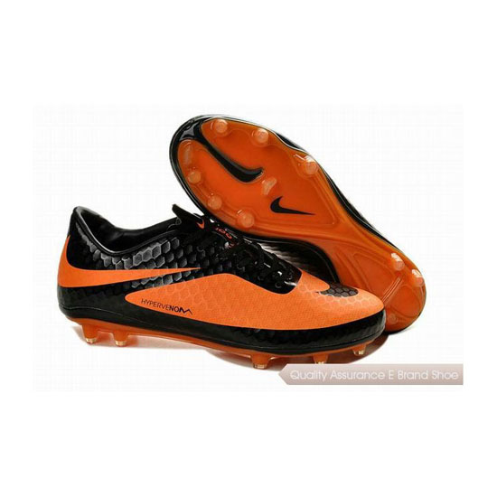 Nike Hypervenom Phantom FG Cleats Black Citrus