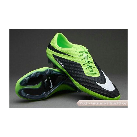 Nike Hypervenom Phantom FG Mens Cleats Lime Green White Black