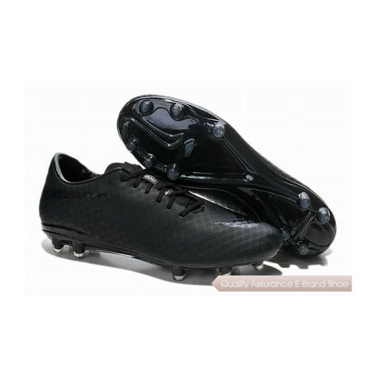 Nike HyperVenom Phantom FG Soccer Cleats 2014 Blackout