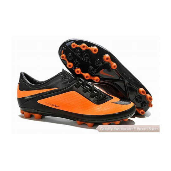 Nike Hypervenom Phelon AG Soccer Cleats Black Citrus