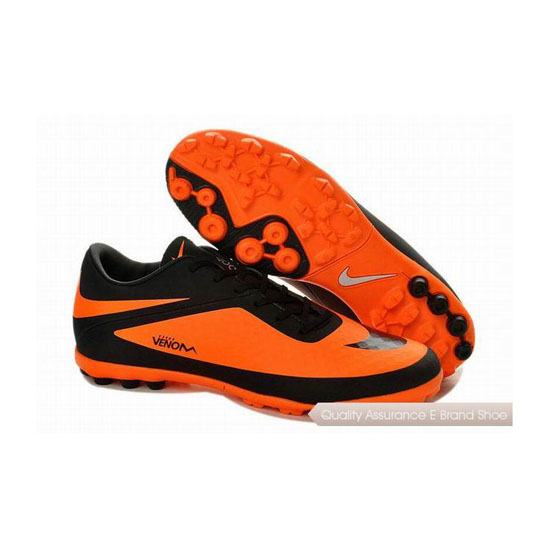 Nike Hypervenom Phelon TF ACC Turf Soccer Cleats Black Orange