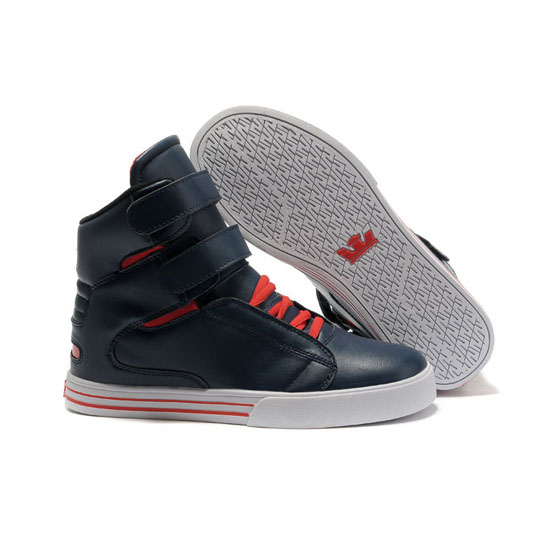Supra Tk Society Footwear Nary Red White Red