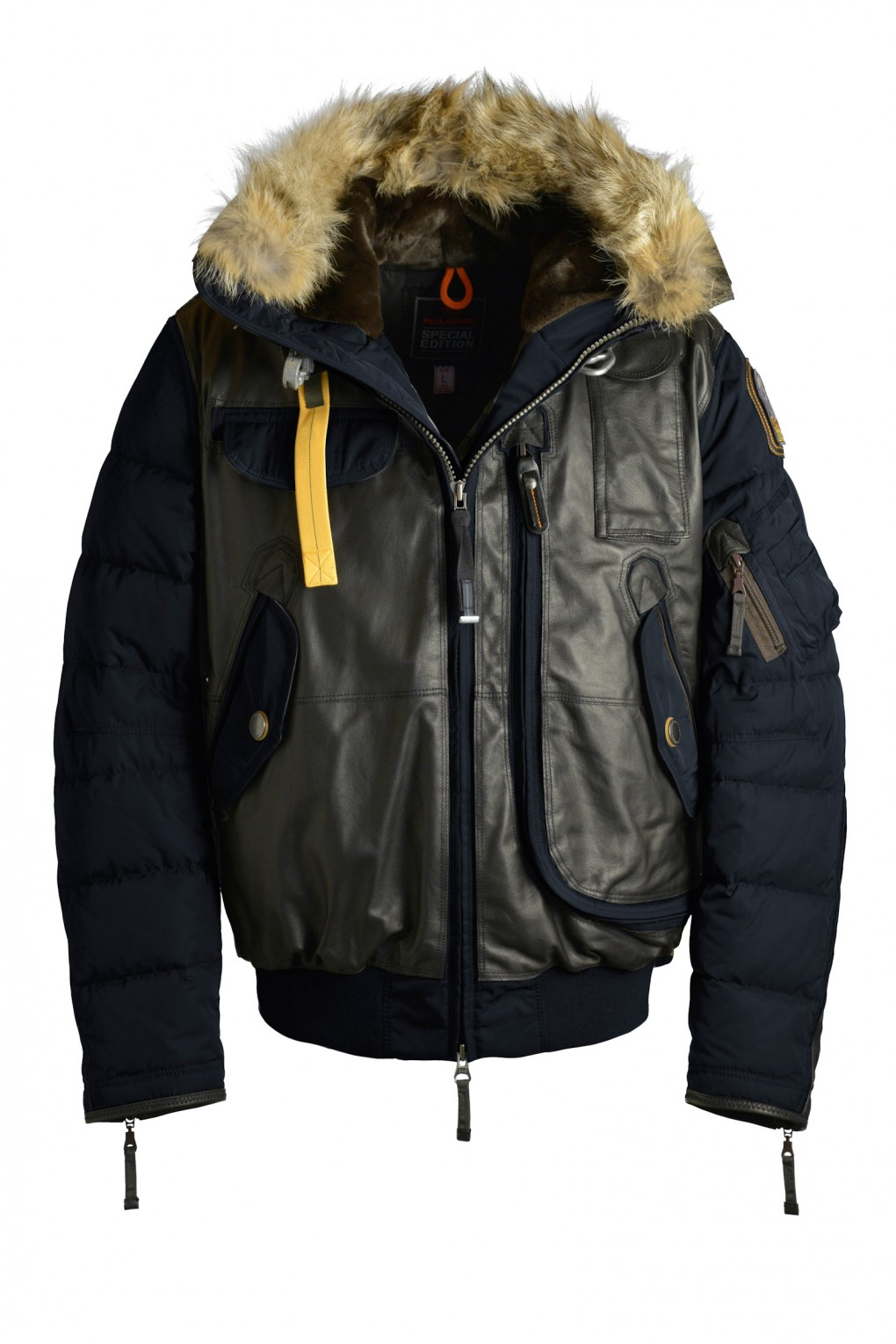 parajumpers GRIZZLY man outerwear Blue Black