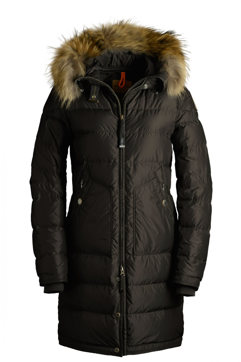 parajumpers LIGHT LONG BEAR woman outerwear Brown