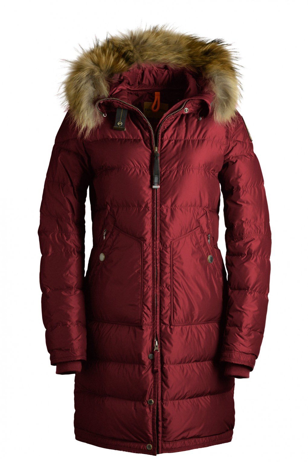 parajumpers LIGHT LONG BEAR woman outerwear Red