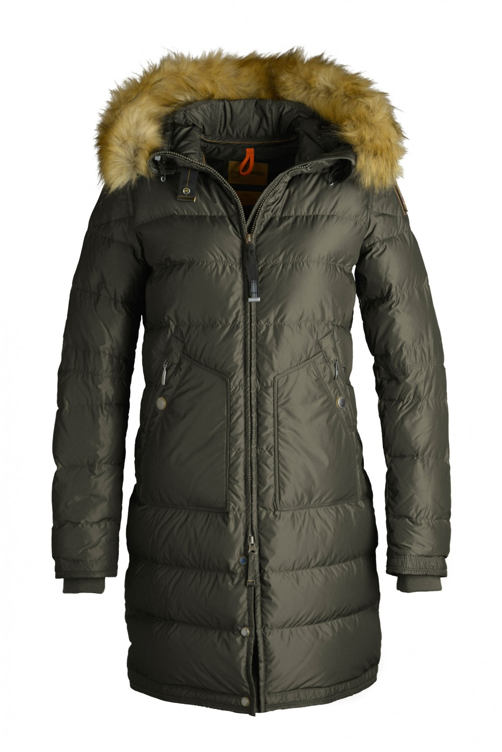 parajumpers LIGHT LONG BEAR ECO woman outerwear Army