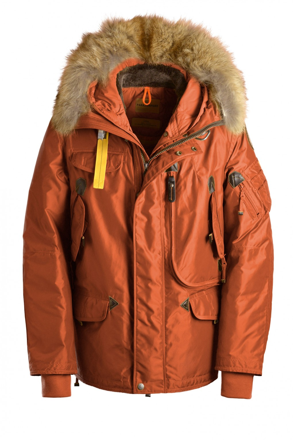 parajumpers RIGHT HAND man outerwear Rust