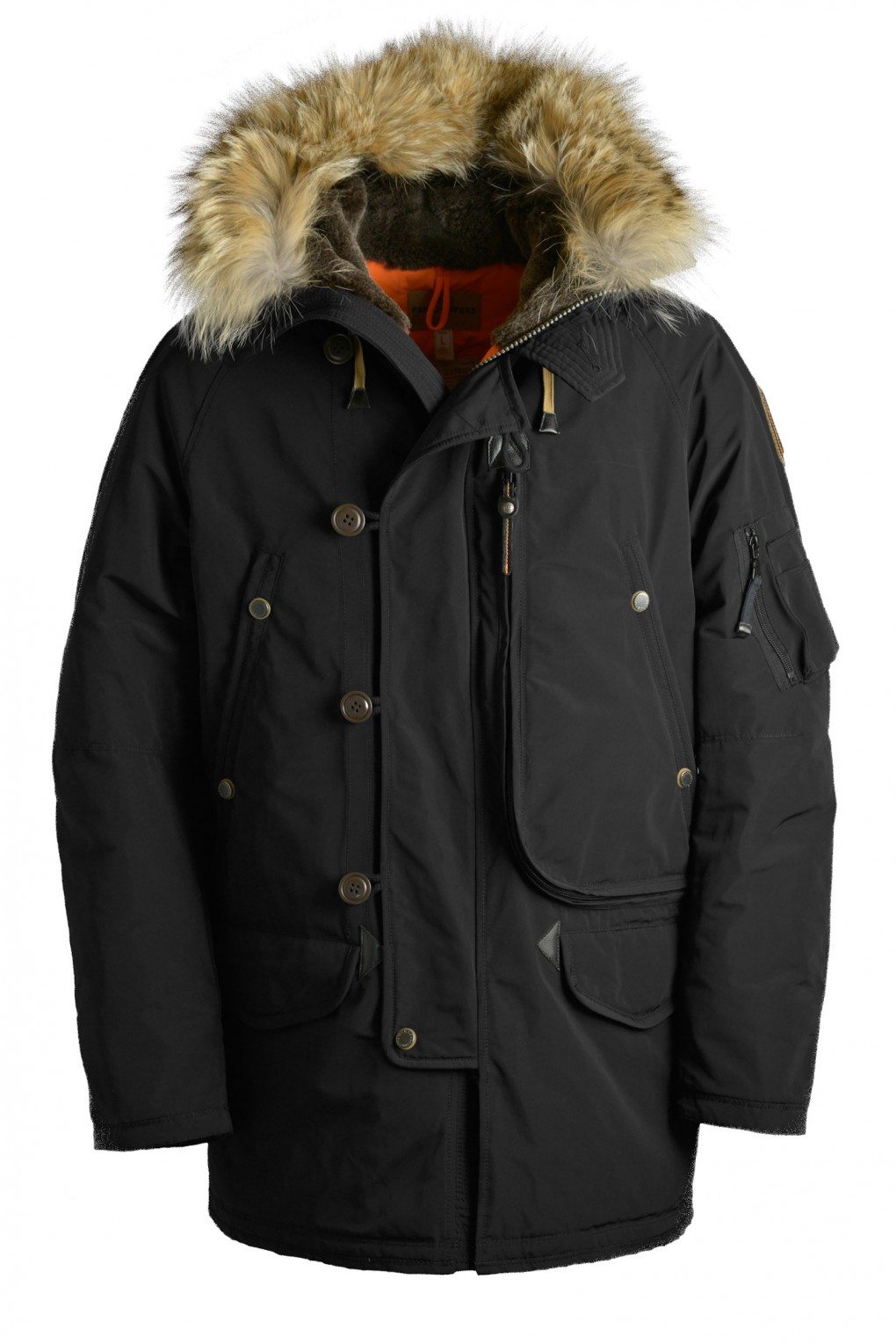 parajumpers TYPE N-3B man outerwear Black