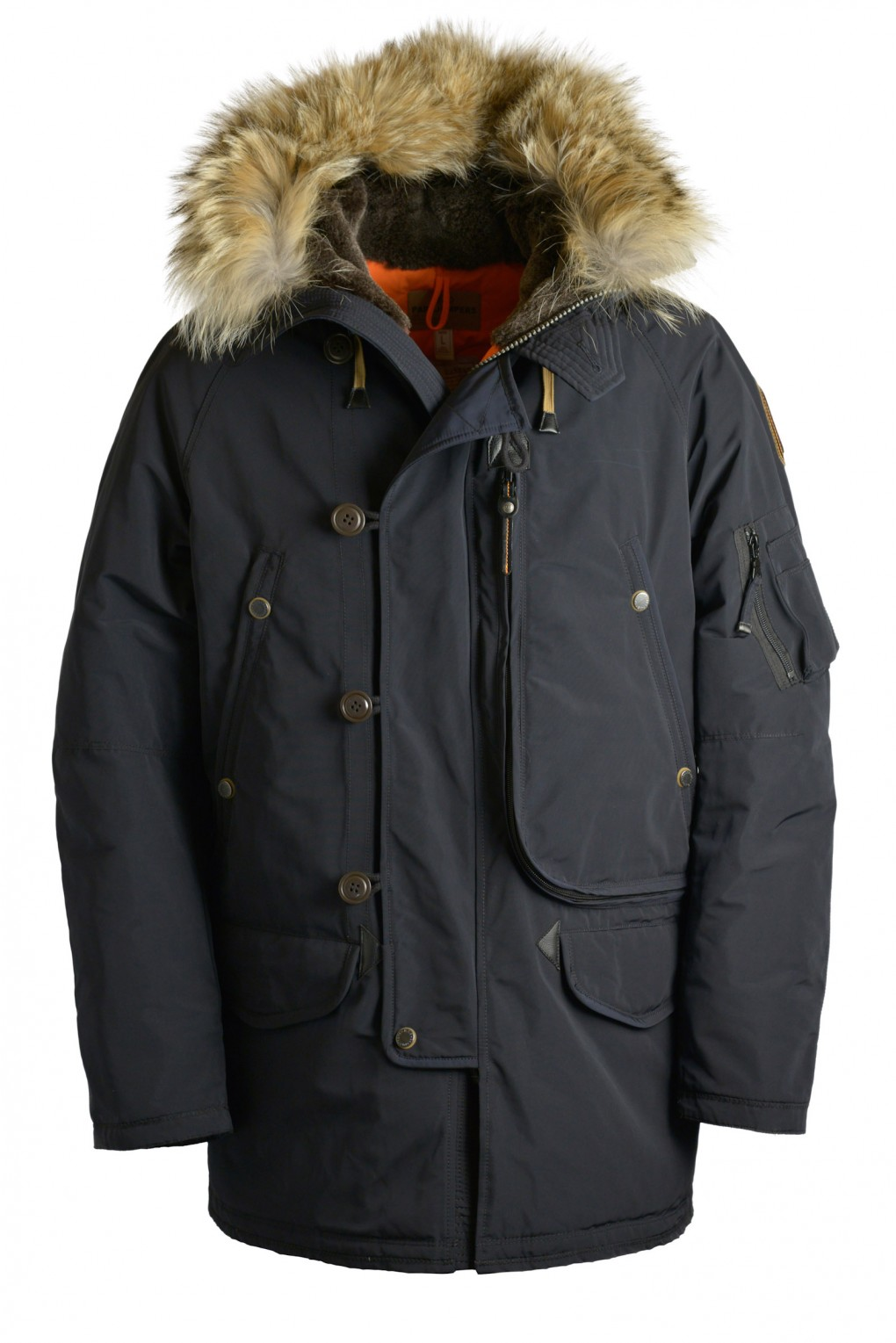 parajumpers TYPE N-3B man outerwear Blue Black