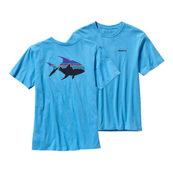 PATAGONIA MEN'S FITZ ROY PERMIT COTTON T-SHIRT