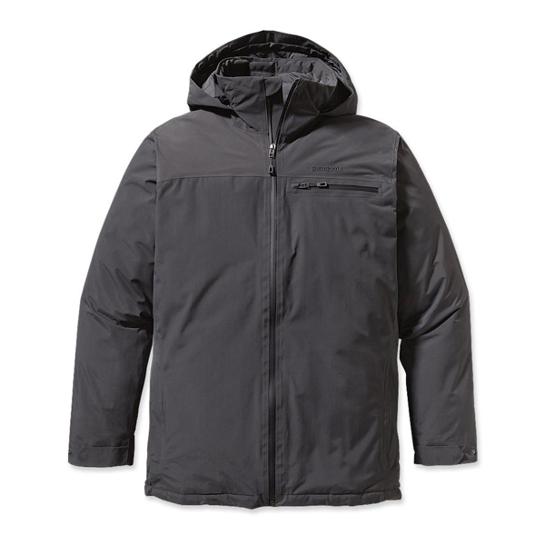 Patagonia Men's Interlodge Down Jacket Forge Grey