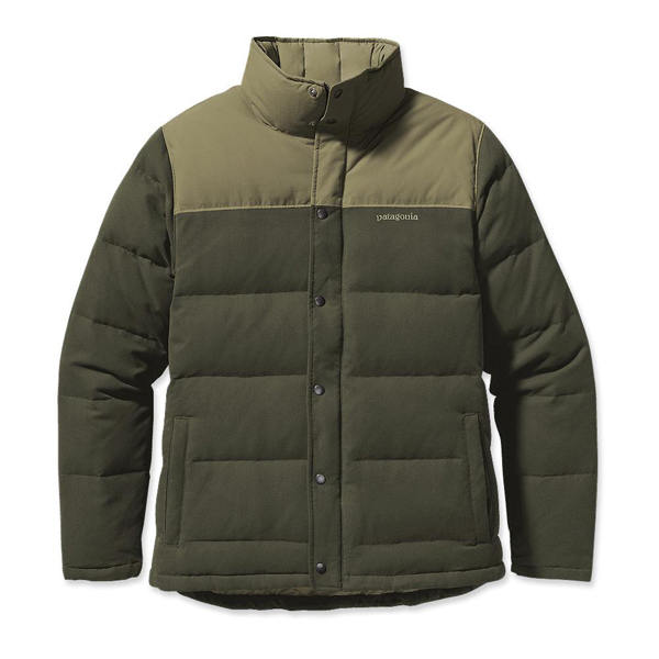 Patagonia Men's Bivy Down Jacket Urbanist Green