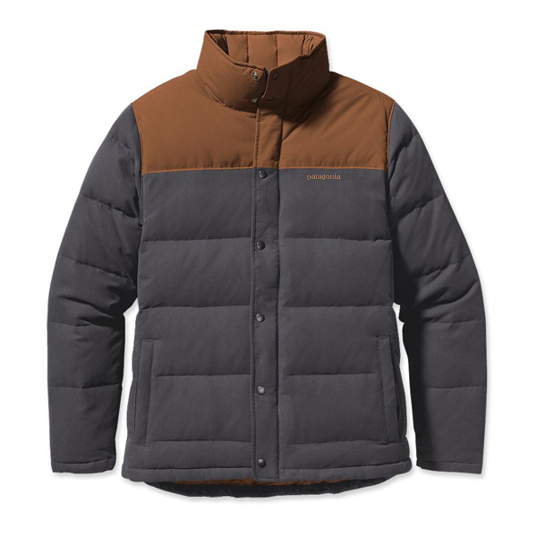 Patagonia Men's Bivy Down Jacket Forge Grey