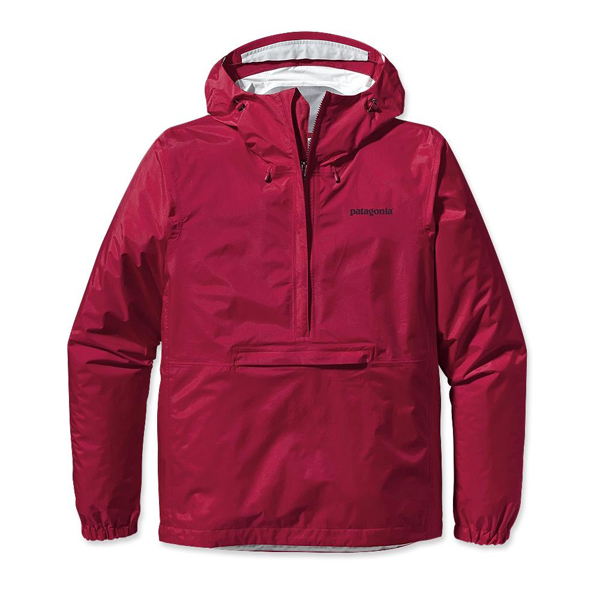 Patagonia Men's Torrentshell Pullover Wax Red