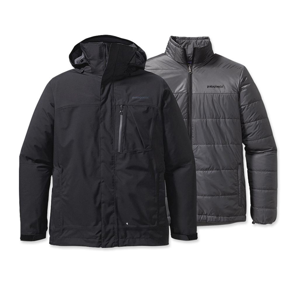 Patagonia Men's 3-in-1 Snowshot Jacket Black