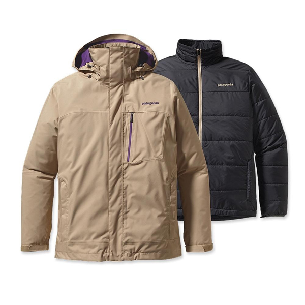 Patagonia Men's 3-in-1 Snowshot Jacket Retro Khaki