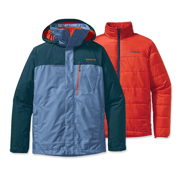 Patagonia Men's 3-in-1 Snowshot Jacket Tidal Teal