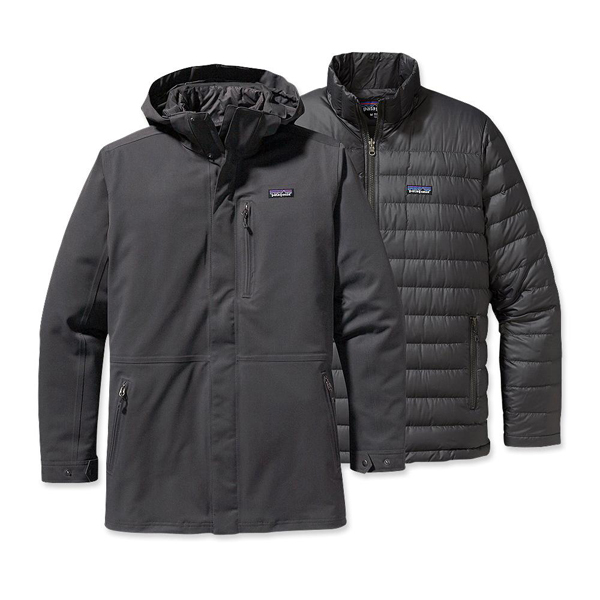 Patagonia Men's Tres 3-in-1 Parka Forge Grey