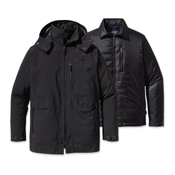 Patagonia Men's Roys Bay 3-in-1 Parka Black