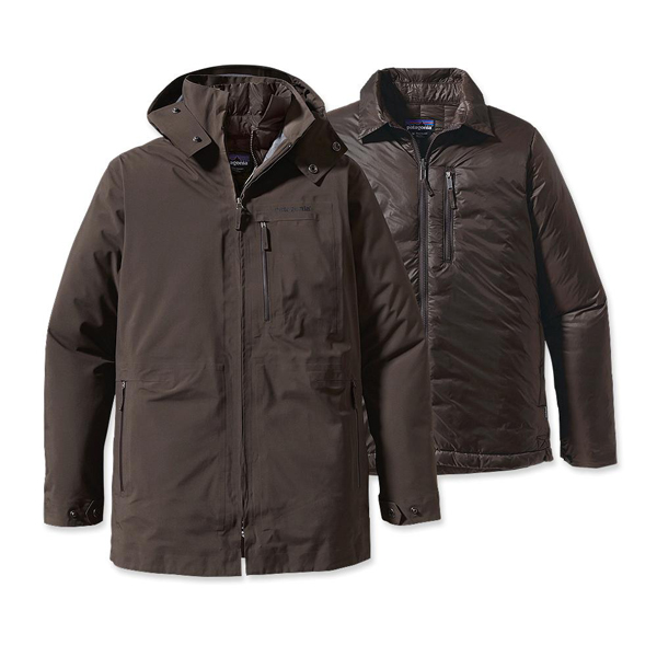 Patagonia Men's Roys Bay 3-in-1 Parka Dark Walnut