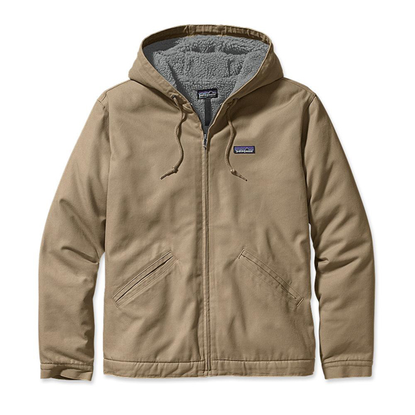 Patagonia Men's Lined Canvas Hoody Classic Tan