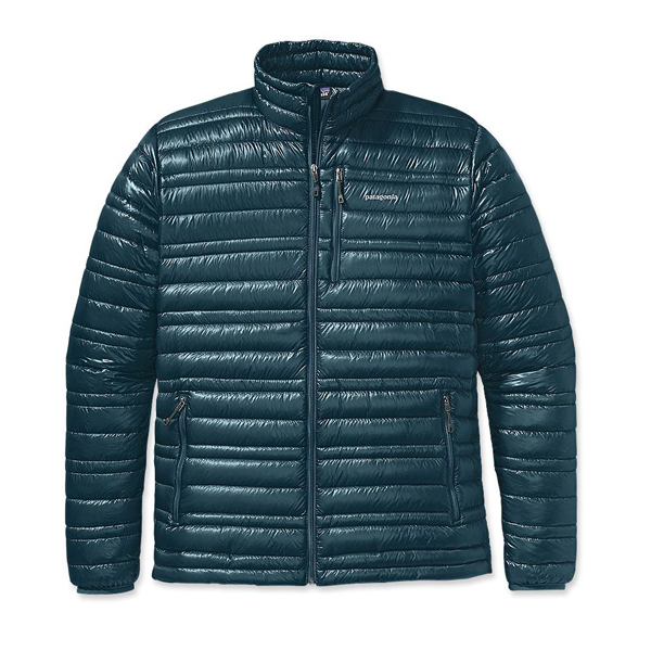 Patagonia Men\'s Ultralight Down Jacket Tidal Teal