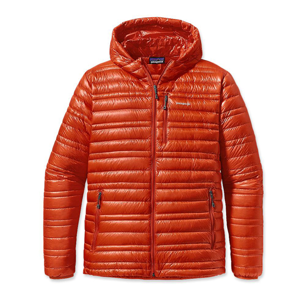 Patagonia Men's Ultralight Down Hoody Eclectic Orange
