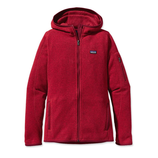 Patagonia Women's Better Sweater™ Full-Zip Hoody Red Delicious