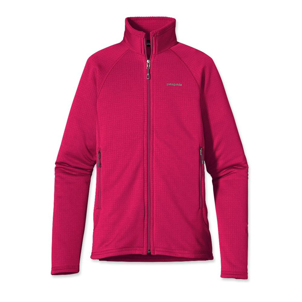 Patagonia Women's R1® Full-Zip Jacket Jeweled Berry