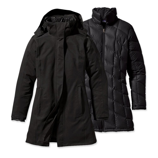 Patagonia Women's Tres 3-in-1 Parka Black