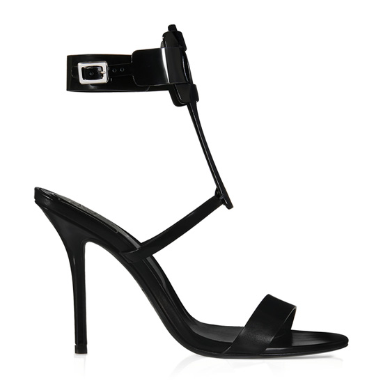 ROGER VIVIER SEXY PILGRIM SANDALS IN LEATHER