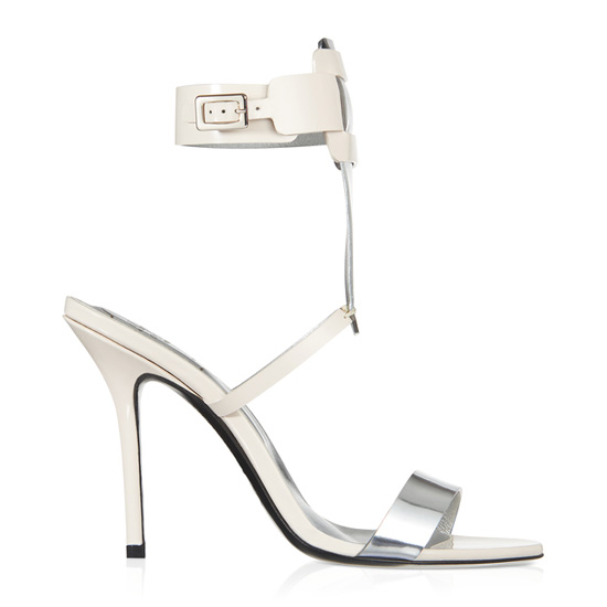 ROGER VIVIER SANDAL SEXY PILGRIM IN LEATHER