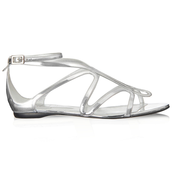 ROGER VIVIER ONDULATION SANDAL IN LEATHER