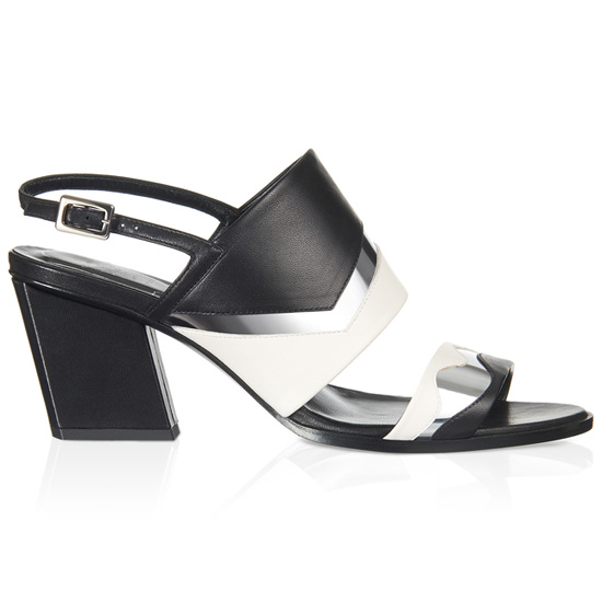 ROGER VIVIER JAZZ SANDAL IN LEATHER