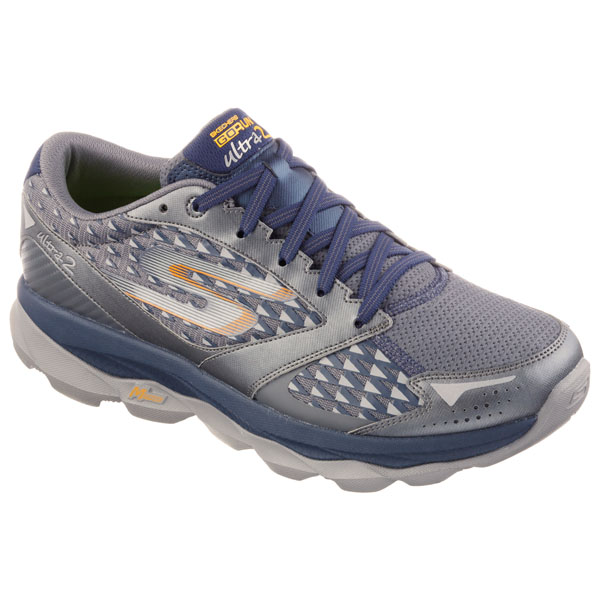 SKECHERS MEN GORUN ULTRA 2 Charcoal/Navy