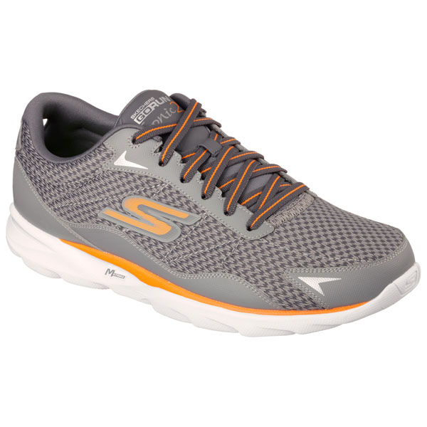 SKECHERS MEN GORUN SONIC 2 Charcoal/Orange